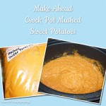 Make Ahead Crock Pot Mashed Sweet Potatoes