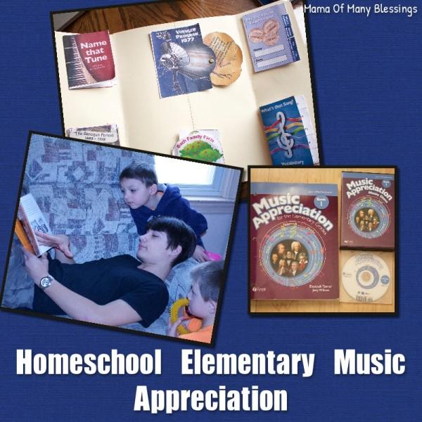 Homeschool Elementary Music Appreciation