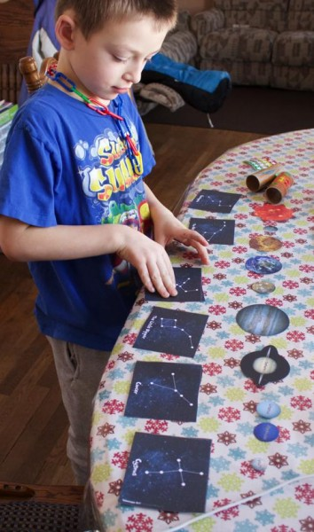 Outer Space Learning Ideas
