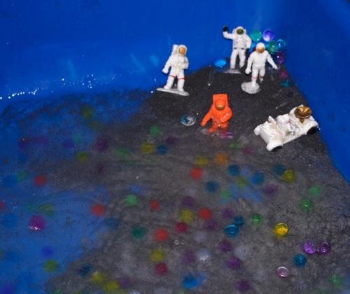 Outer Space Sensory Idea