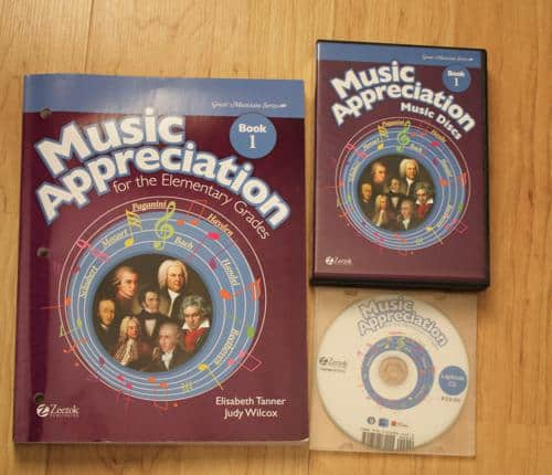 Homeschool Music Appreciation for Elementary