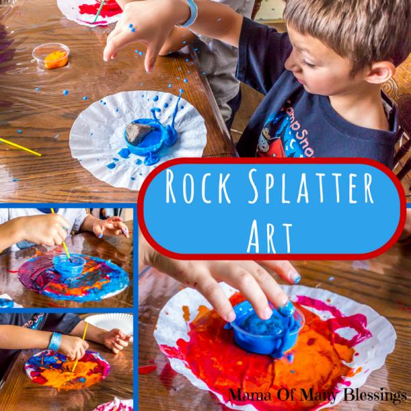 Rock SplatterArt