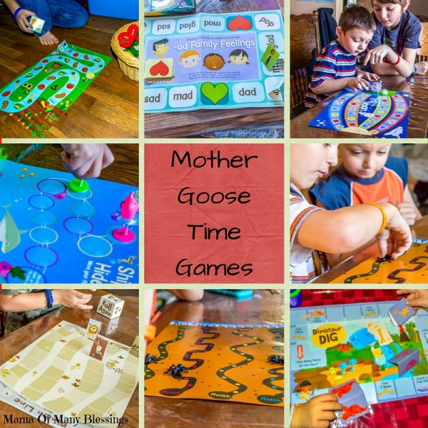 Mother Goose Time Games