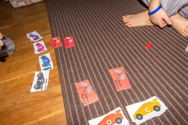 Race-car-Matching-Game
