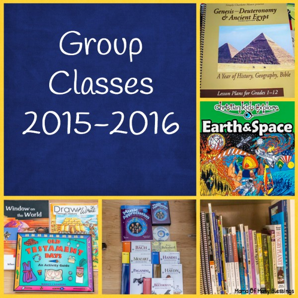 Group Classes 2015-2016