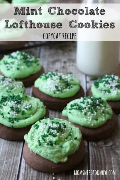 Mint-Chocolate-Lofthouse-Cookies-copycat-recipe