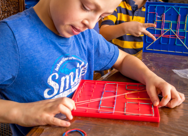Geoboard-In-Homeschool
