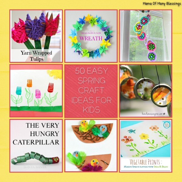 50-Spring-Craft-Ideas-For-Kids