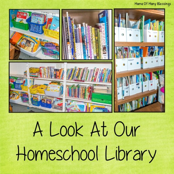 Our Homeschool Library and Where To Find Cheap Books