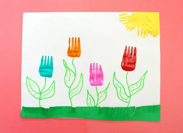 Fork-Tulips-Kids-Spring-Craft