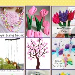 50 Awesome, Quick, and Easy Kids Craft Ideas for Spring