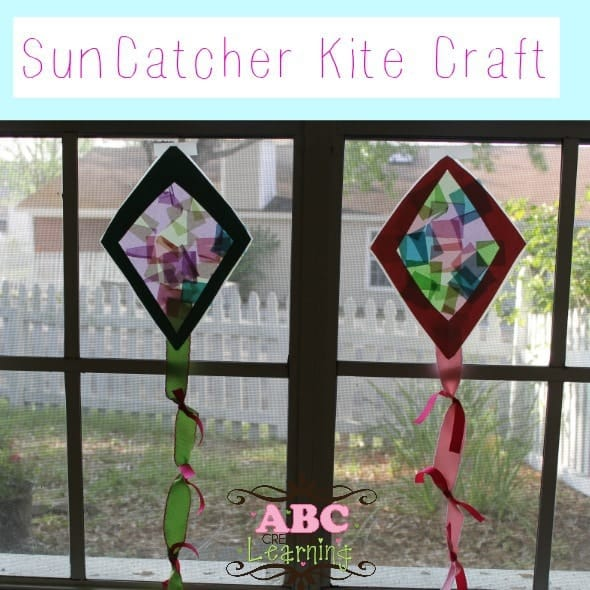 Sun-catcher-kite-craft