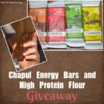 Chapul High Protein Energy Bars and Flour Giveaway