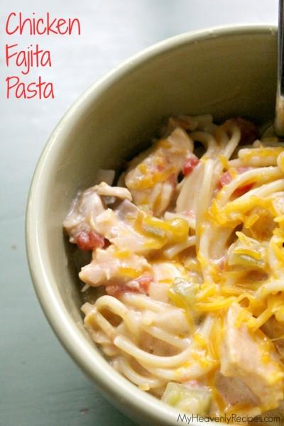 Chicken-Fajita-Pasta-crock-pot-recipes