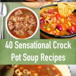 40 Sensational and Warm Crock Pot Soup Recipes