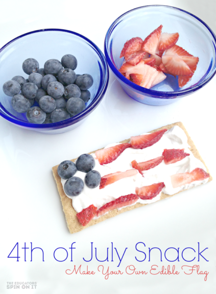 4thofJulySnack-Patriotic Recipe