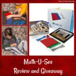 Math-U-See Algebra 1 Review and Your Choice Level Giveaway