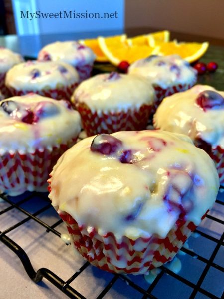 Glazed-Cranberry-Orange-Muffins--Healthy-breakfast-ideas