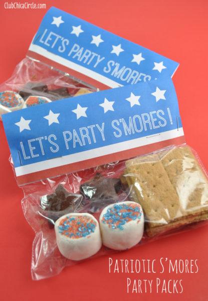 Patriotic-Party-Smores-Packs-with-Free-Printable-Patriotic Recipe