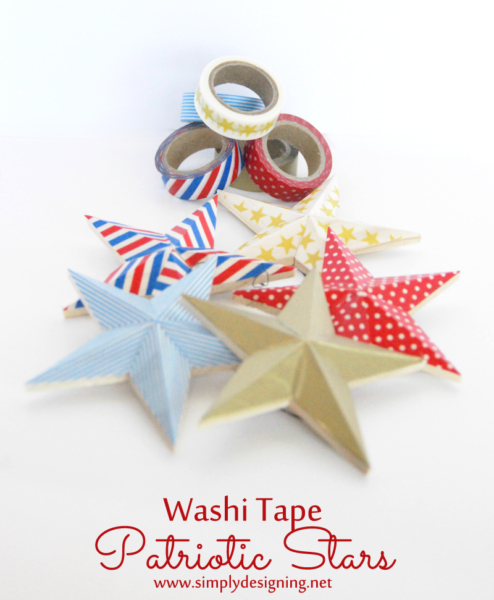 Washi Tape Stars Simply Designing DSC04664