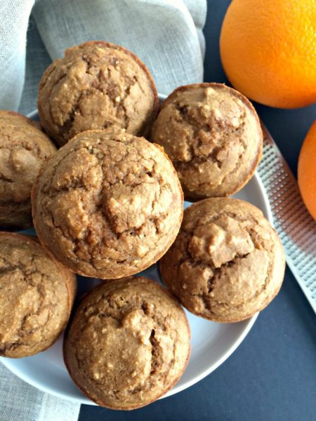 almond-orange-muffins-Healthy-breakfast-ideas