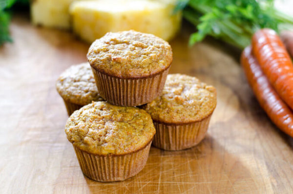 carrot-pineapple-muffin680x450-Healthy-breakfast-ideas