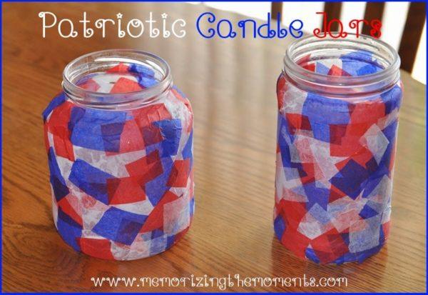 Patriotic-Candle-Jars-Craft