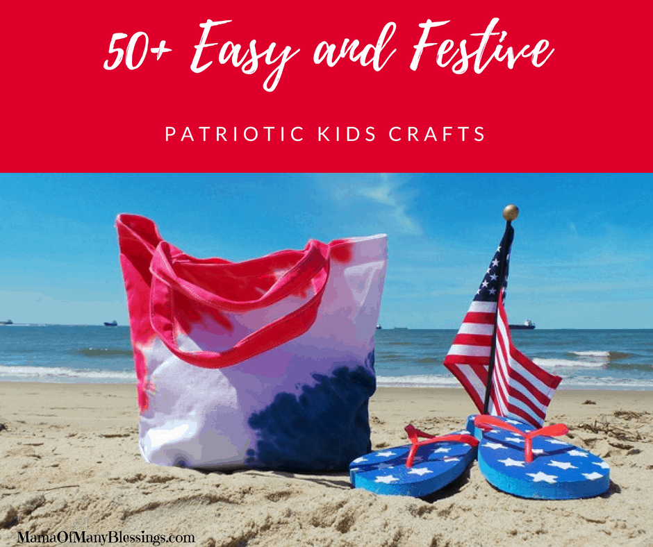 50+ Easy and Festive Patriotic Kids Craft Ideas Facebook