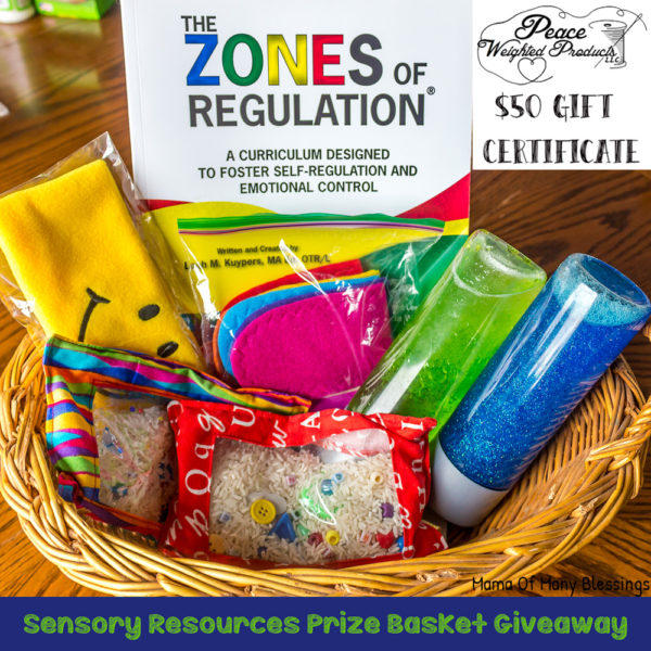 Sensory Resources Gift Basket Giveaway