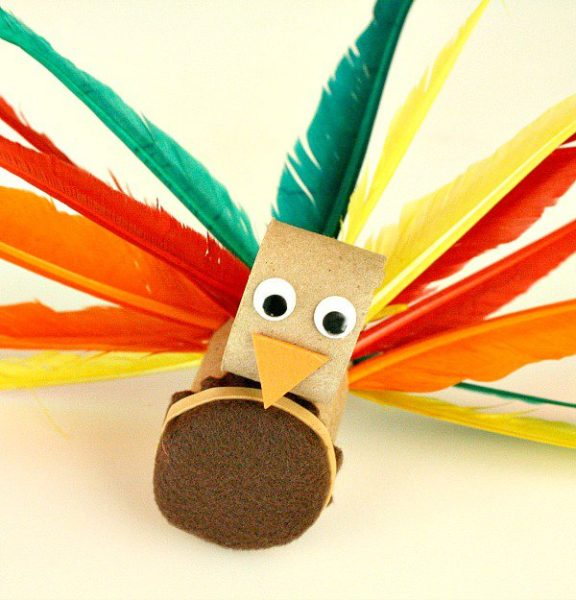 Turkey-Craft-and-Fine-Motor-Activity-for-Kids-kids-craft-ideas-for-fall