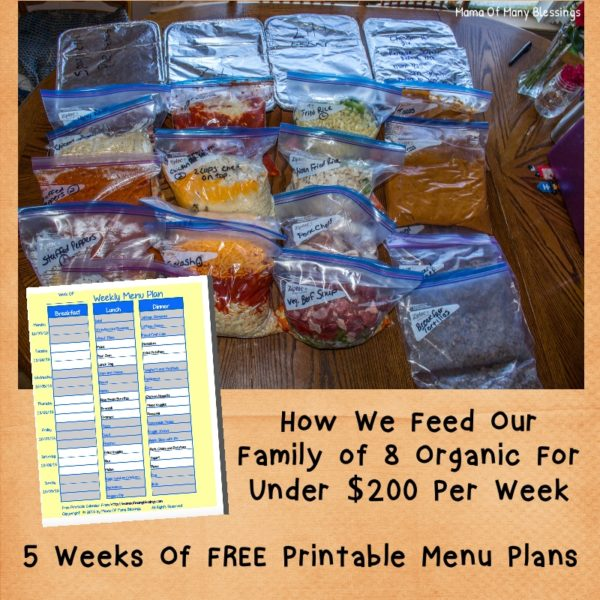Monthly-Meal-Planning