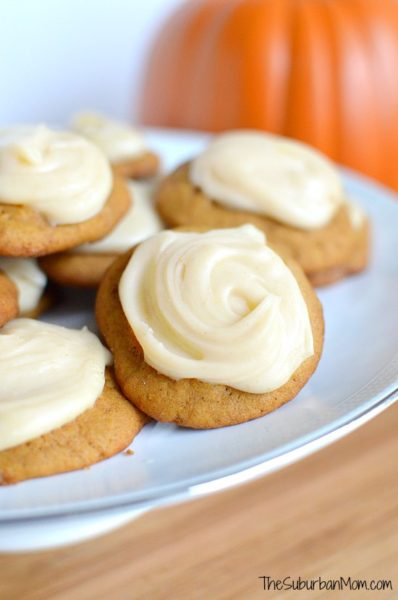 iced-pumpkin-spice-cookies-Pumpkin-Recipes