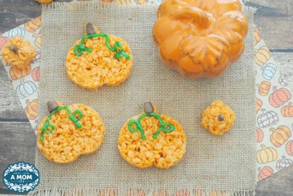pumpkin-rice-krispie-treats-recipe-fall-Pumpkin-Recipes