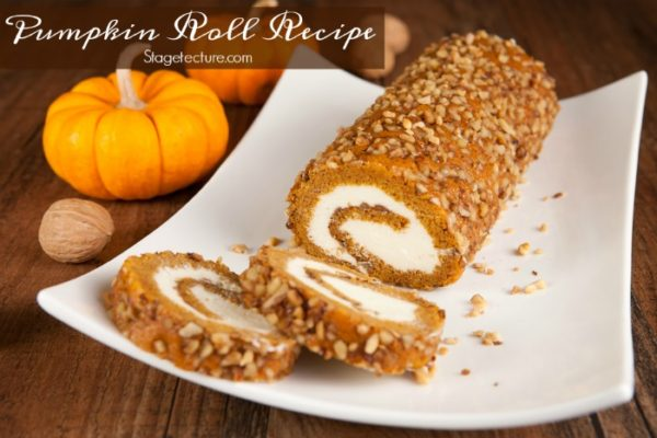 pumpkin-roll-dessert-Pumpkin-Recipes