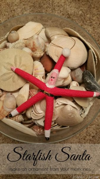 starfish-santa-ornament-Kids-Craft-Ideas-For-Christmas