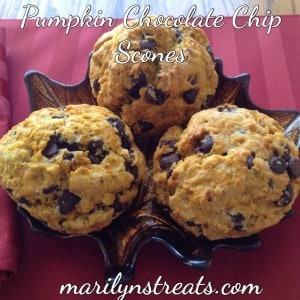 pumpkin-chocolate-chip-scones-300x300-Pumpkin-Recipes