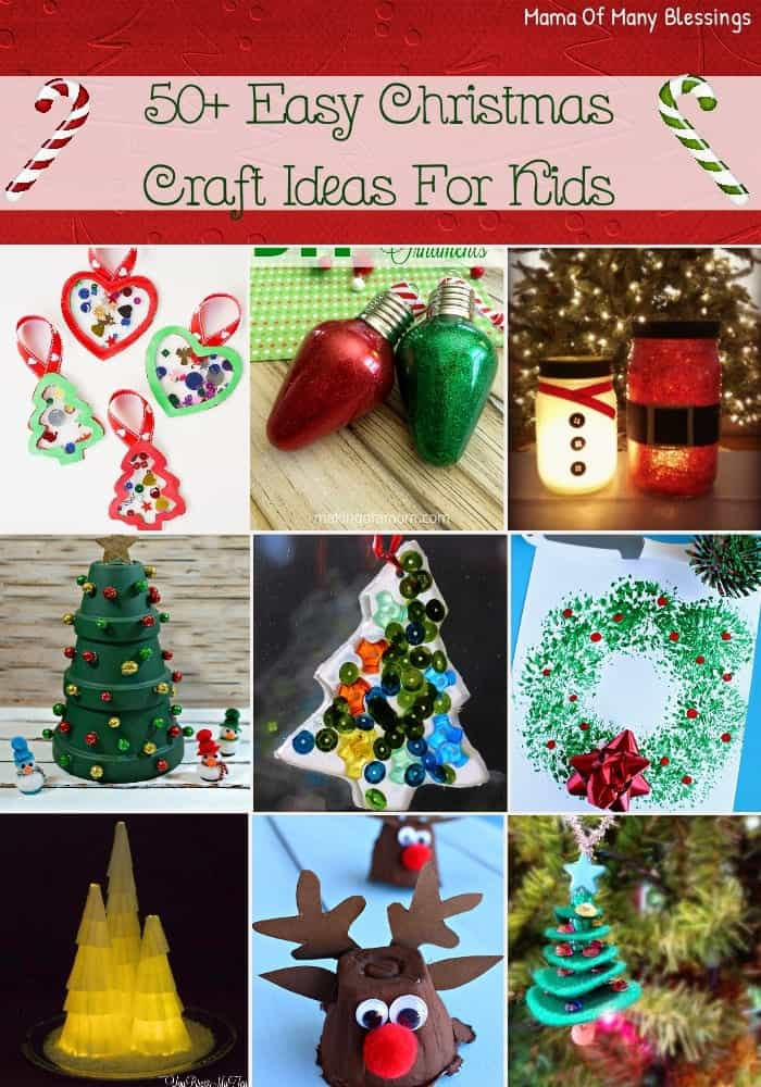 holiday craft idea 50 awesome and easy craft ideas for 2184