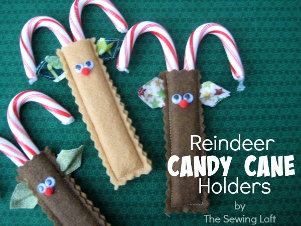 reindeer-candy-cane-holders-Kids-Craft-Ideas-For-Christmas