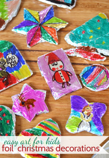 foil-decorations-4-Kids-Craft-Ideas-For-Christmas