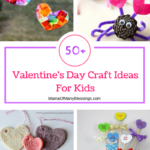 50+ Awesome, Quick, and Easy Kids Craft Ideas for Valentines Day