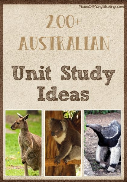 200+-Australia-Unit-Study-Ideas-Pinterest