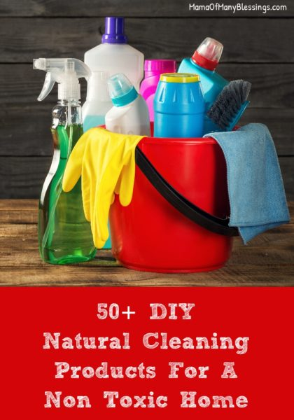 50 Diy Natural Cleaning Products For A Non Toxic Home