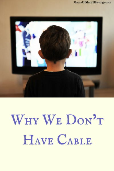 Why We Don't Have Cable