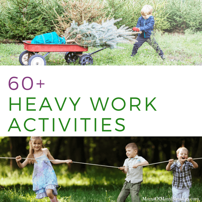 60 Heavy Work Activities