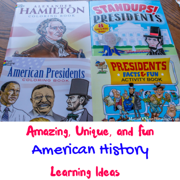 American History and President Unit Study Resources