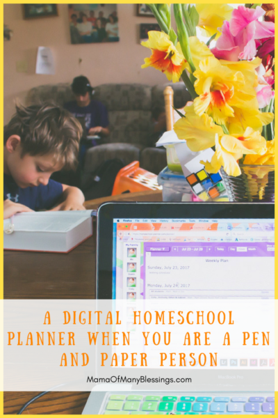 Homeschool Planet Digital Homeschool planner
