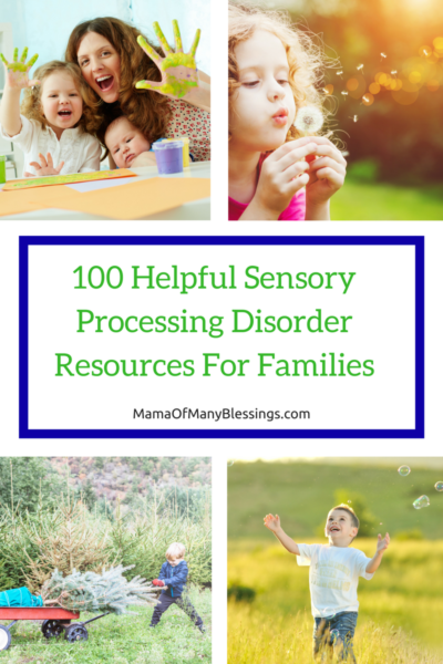 100 SPD Resources Helpful For Families Pinterest Collage