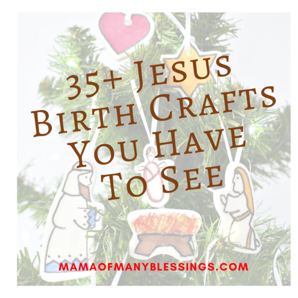 Jesus Birth Crafts For Kids Square