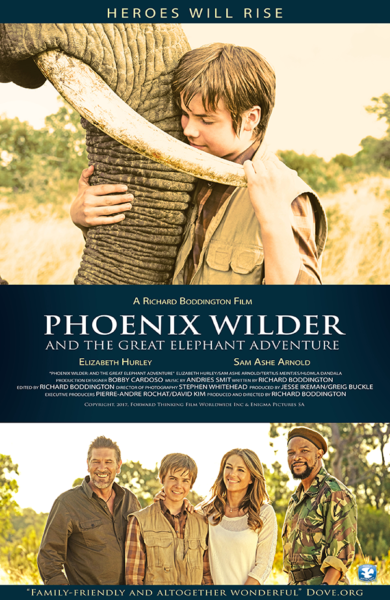 Elephant Family Movie Phoenix Wilder: And The Great Elephant Adventure