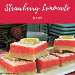Amazingly Delicious Strawberry Lemonade Bars